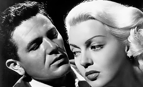 Still shot from the movie: The Postman Always Rings Twice.