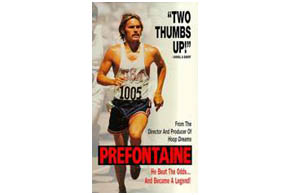 Still shot from the movie: Prefontaine.