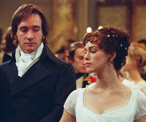 Still shot from the movie: Pride & Prejudice.