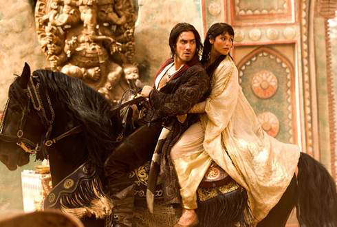 Still shot from the movie: Prince of Persia: The Sands of Time.