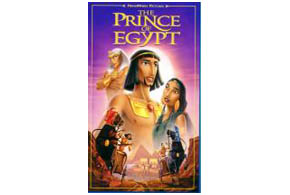 Still shot from the movie: Prince Of Egypt.