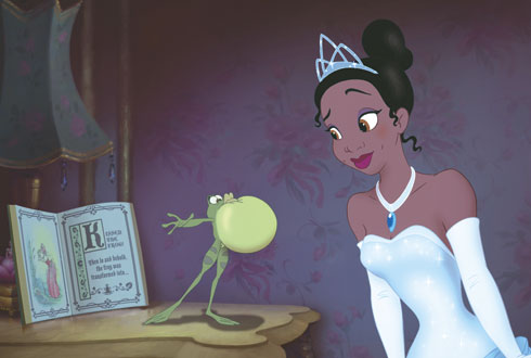 Still shot from the movie: The Princess and the Frog.