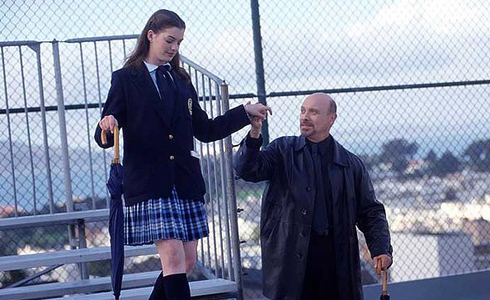Still shot from the movie: The Princess Diaries.