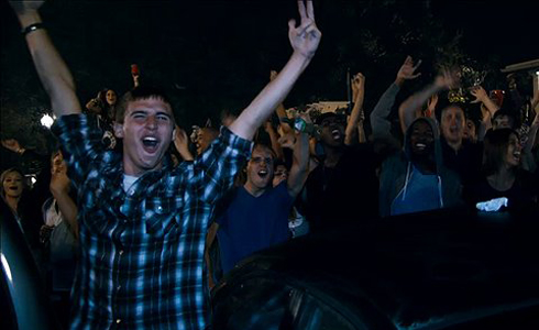 Still shot from the movie: Project X.