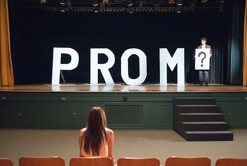 Still shot from the movie: Prom.