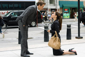Still shot from the movie: The Proposal.