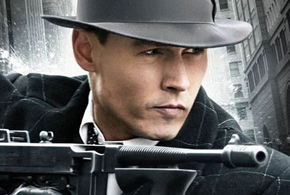 Still shot from the movie: Public Enemies.
