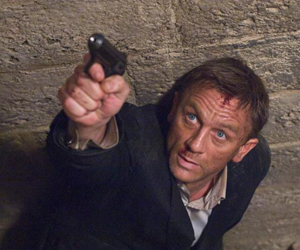 Still shot from the movie: Quantum of Solace.