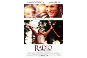 Still shot from the movie: Radio.