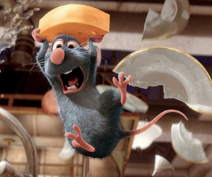 Still shot from the movie: Ratatouille.
