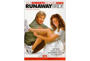 Still shot from the movie: Runaway Bride.