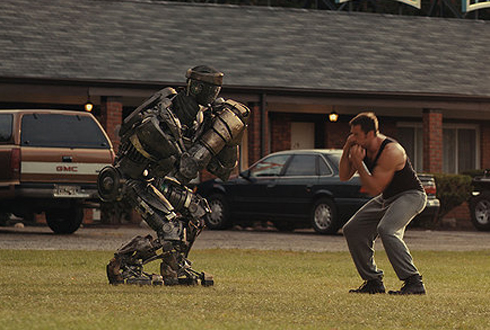 Still shot from the movie: Real Steel.