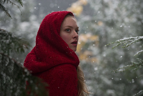 Still shot from the movie: Red Riding Hood.