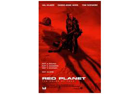 Still shot from the movie: Red Planet.