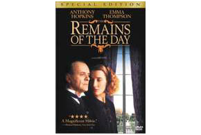 Still shot from the movie: The Remains Of The Day.