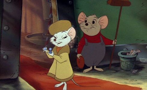 Still shot from the movie: The Rescuers.