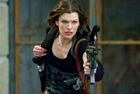 Still shot from the movie: Resident Evil: Afterlife.