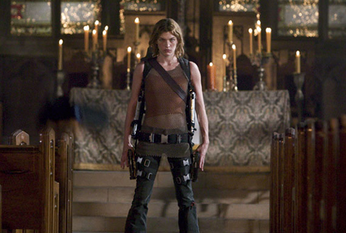 Still shot from the movie: Resident Evil: Apocalypse.
