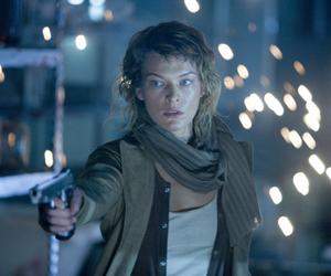 Still shot from the movie: Resident Evil: Extinction.