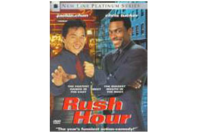 Still shot from the movie: Rush Hour.