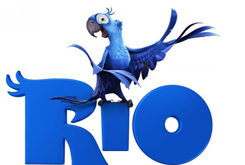 Still shot from the movie: Rio.