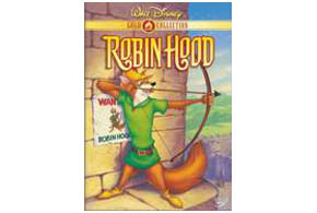 Still shot from the movie: Robin Hood (Disney's).