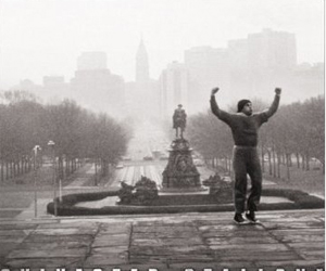 Still shot from the movie: Rocky.