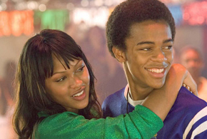 Still shot from the movie: Roll Bounce.