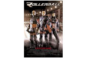 Still shot from the movie: Rollerball.