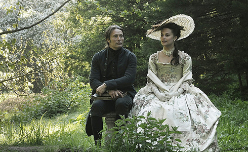 Still shot from the movie: A Royal Affair.