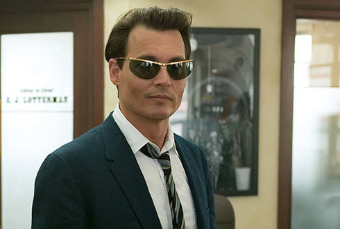 Still shot from the movie: The Rum Diary.