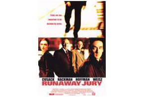 Still shot from the movie: Runaway Jury.