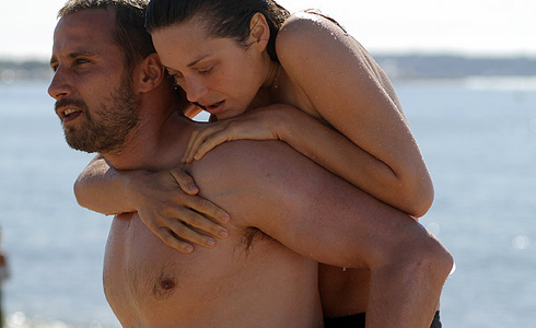 Still shot from the movie: Rust and Bone.