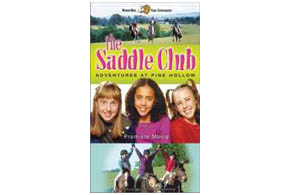 Still shot from the movie: The Saddle Club.