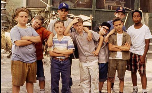 Still shot from the movie: The Sandlot.