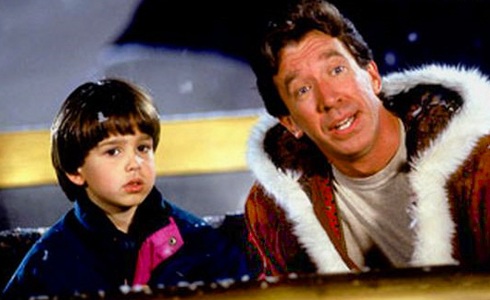 Still shot from the movie: The Santa Clause.