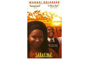 Still shot from the movie: Sarafina.