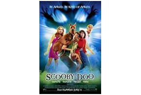Still shot from the movie: Scooby-Doo.