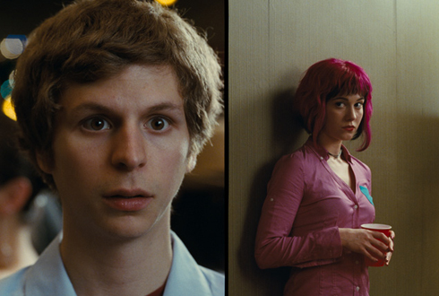 Still shot from the movie: Scott Pilgrim vs. The World.