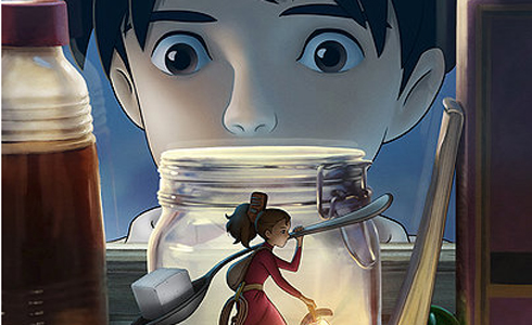 Still shot from the movie: The Secret World of Arrietty.