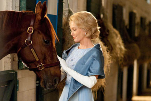 Still shot from the movie: Secretariat.