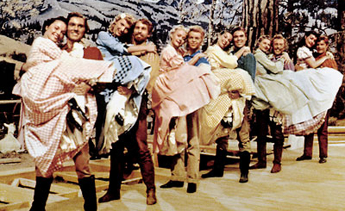 Still shot from the movie: Seven Brides For Seven Brothers.