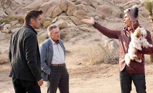 Still shot from the movie: Seven Psychopaths.