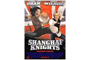 Still shot from the movie: Shanghai Knights.