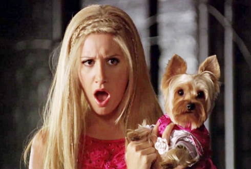 Still shot from the movie: Sharpay's Fabulous Adventure.