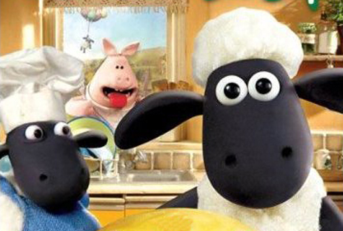 Still shot from the movie: Shaun The Sheep - A Woolly Good Time.
