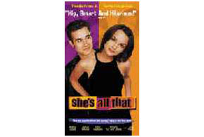 Still shot from the movie: She's All That.