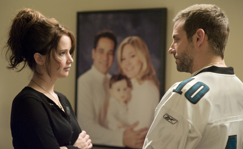 Still shot from the movie: Silver Linings Playbook.