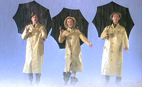Still shot from the movie: Singin' In The Rain.