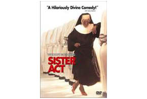 Still shot from the movie: Sister Act.